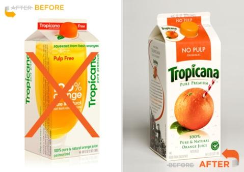 Tropicana Packaging